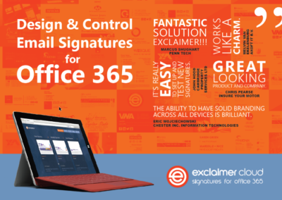 Design and Control Email Signatures for Office 365